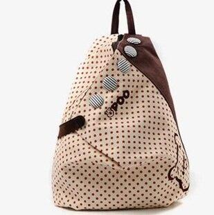 Girls Vintage Canvas Backpack Rucksack Womens School Shoulder Bags Shopping Hiking Bookbag - NB-MART store