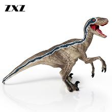 ZXZ Jurassic World 2 Velociraptor Blue Dinosaurs Classic Toys For Boys Children Animal Model Action Figures Mouth Can Open Close(China)