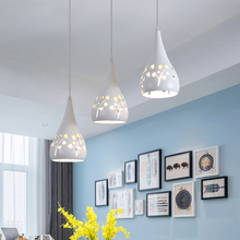 ФОТО modern led pendant lights  dining room bar counter light luxury design indoor lighting e27 lamp holder pendant lamp ac 90-260v