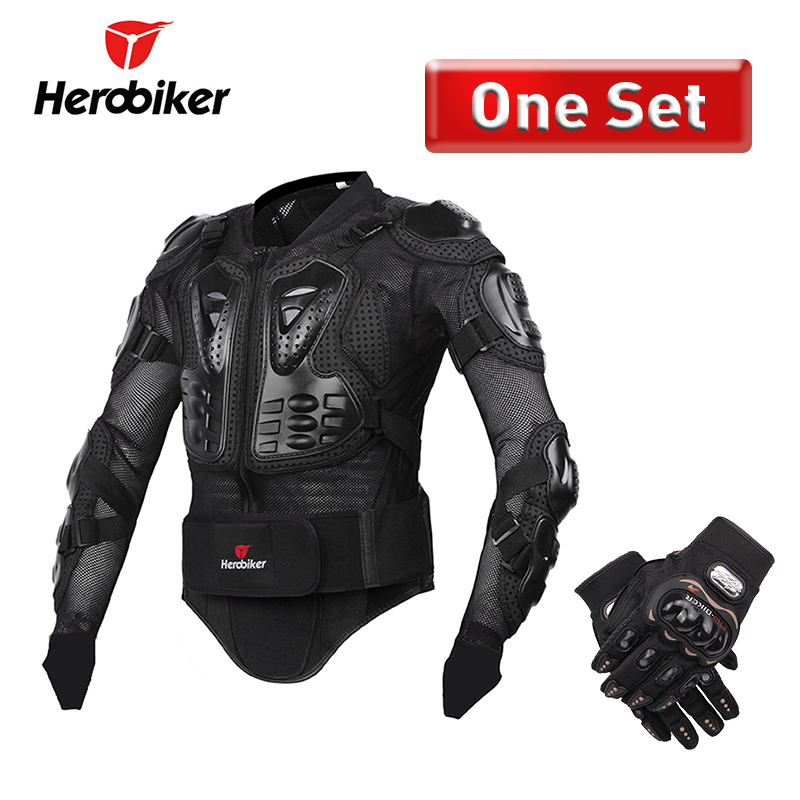 HEROBIKER Motorcycle Jacket Men Protective Gear Motorcycle Armor Full Body Armor Motocross Racing Motorcycle Moto Jacket S-5XL herobiker motorcycle protection motorcycle armor moto protective gear motocross armor racing full body protector jacket knee pad