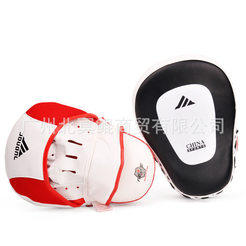 Hot New 2pcs Hand Target MMA Boxing Mitt for Focus Punch Pad Training Glove Karate Muay Thai Kick 3 Colors #5181