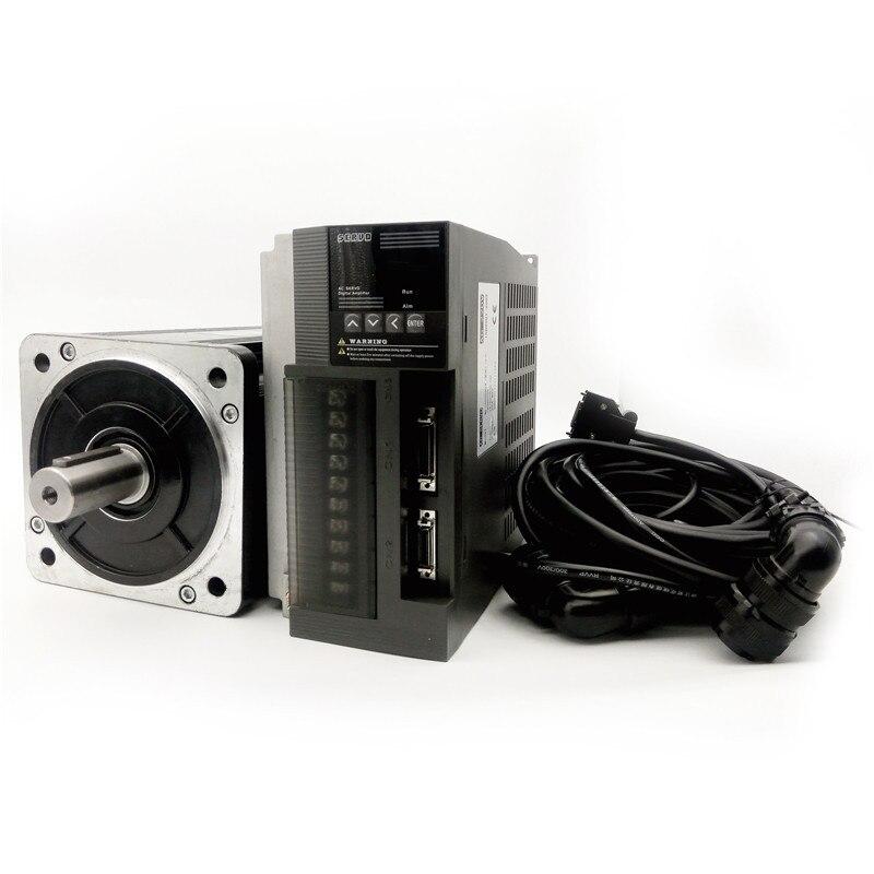 Great quality AC servo motor 180ST M35015 5 5KW 1500RPM 35Nm 220V and matched servo driver
