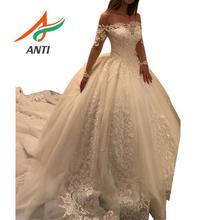 ANTI Ball Gown Wedding Dress 2019 Long Sleeve