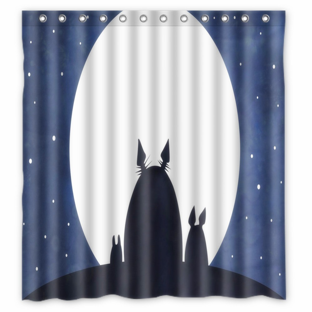 Fairy shower curtain - Anime Shower Curtain One Piece Dragon Ball Z Bleach Fairy Tail Naruto Together My Neighbor Totoro