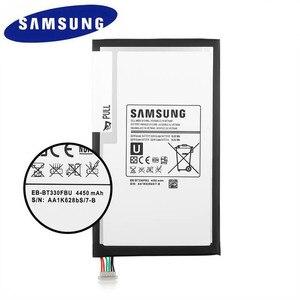 Image 2 - SAMSUNG Dorigine 4450mAh EB BT330FBU EB BT330FBE Batterie De Remplacement Pour Samsung Galaxy Tab 4 8.0 T330 T331 T335 SM T330 SM T331