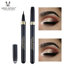 Black Waterproof Eyeliner Simulation Pen Quick Drying Fast Easy Use Long Lasting Liquid Liner Special Smart Cosmetic Gifts