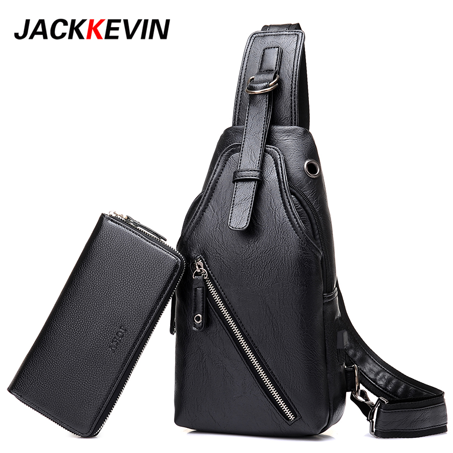 2017 Famous Brand Male Bag Men's Messenger Bags Chest Back Pack Handbag Cross Body Shoulder Bags High-Quality Waterproof Leather hot sale men pu leather shoulder cross body bag rucksack high quality messenger bags fashion casual male single chest back pack