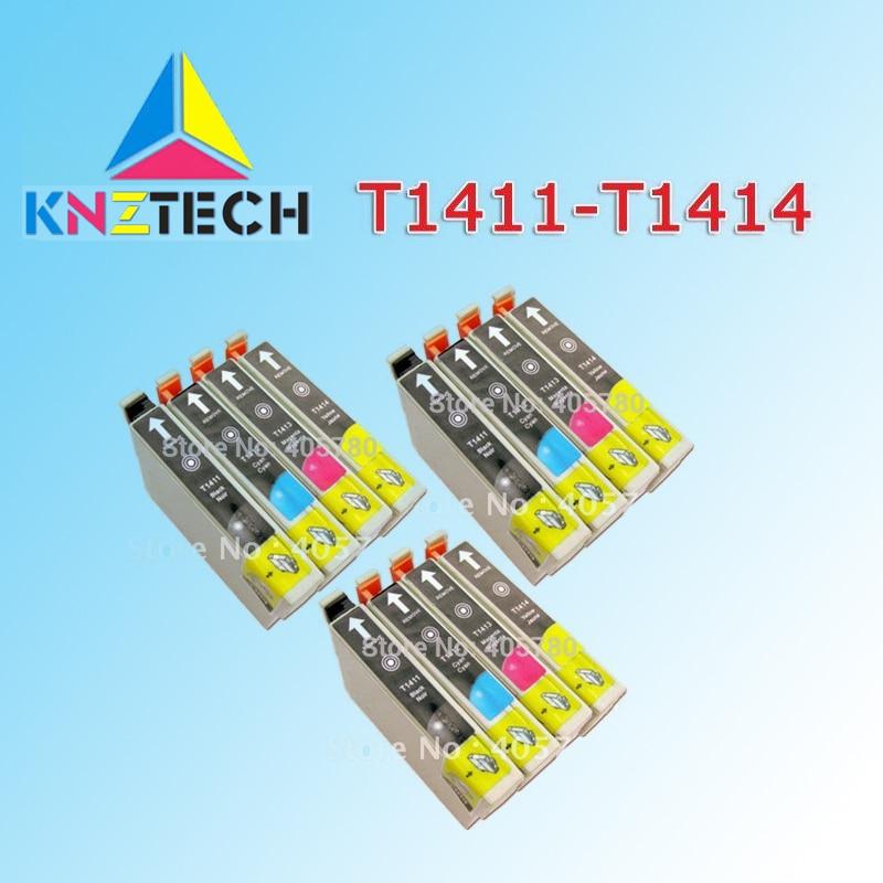 12 шт. в упаковке, T1411 картридж совместимый для ME33 ME330 ME32 ME35 ME350 ME320 ME340