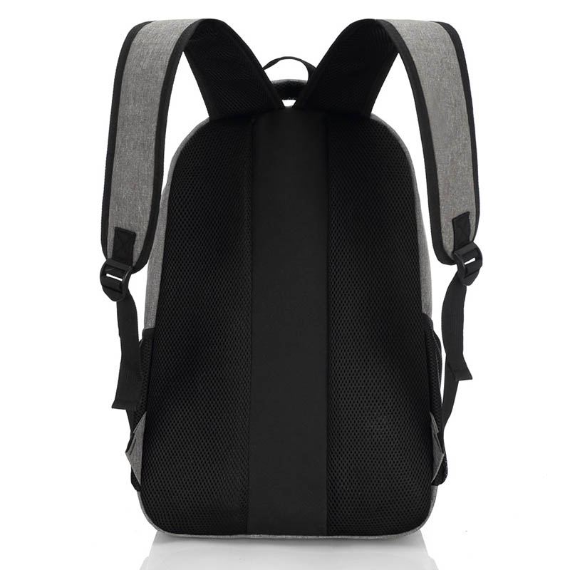 2019 New Fashion Men's Backpack Bag Male Canvas Laptop Backpack Computer Bag High School Student College Student Bag Male #4