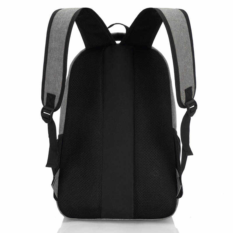 2019 New Fashion Men's Backpack Bag Male Canvas Laptop Backpack Computer Bag high school student college student bag male