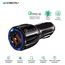 Car USB Charger Quick Charge 3.0 2.0 Mobile Phone