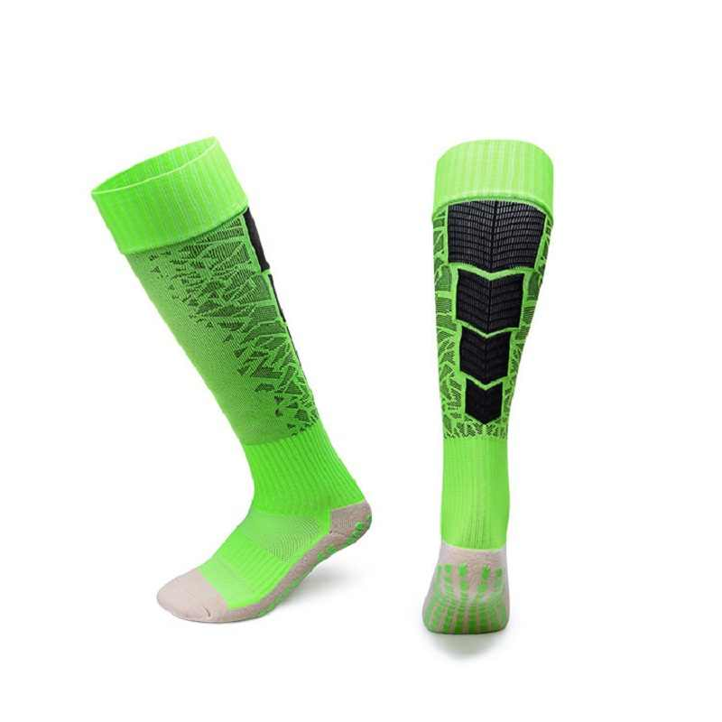 d6fd2b0a5 Men Football Anti-skid Knee Socks Soccer Socks Sport Stockings Running  Bottom Thick Towel Football