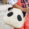 Venta caliente de las mujeres de la vendimia bolsos de control Panda panda de la historieta de la manera ocasional hombro bolsa de Mensajero envío libre