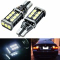 2Pcs Car T10 canbus led W16W 921 LED CANBUS T10 15led 2835smd Chip LED High Power Light Bulbs Compatible with T10 W5W Canbus