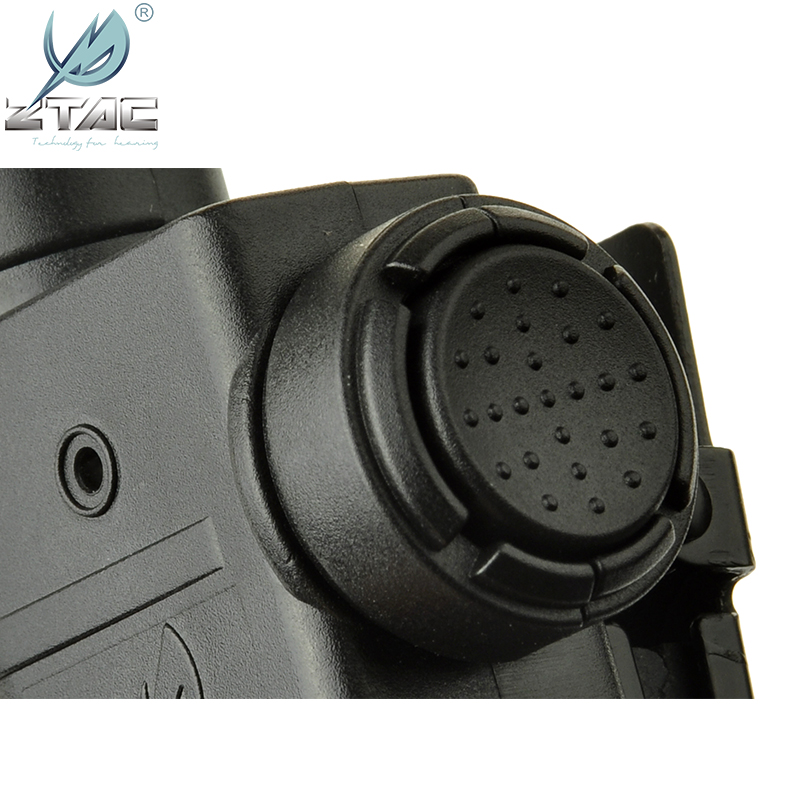 Z TAC Tactial PTT Push Talk Silynx Releases Chest PTT For Midland Kenwood Motorola For Airsoft Tactical Hunting Headphones Z125 in Tactical Headsets Accessories from Sports Entertainment