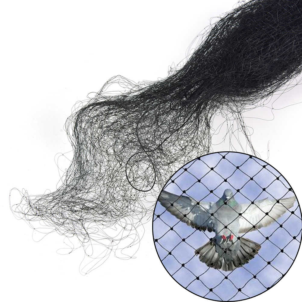 Anti-bird network Agricultural Field Black Bird-Preventing Anti Bird Netting Net Mesh For Fruit Crop Plant Tree In Garden