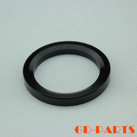 Black Anodized CNC Machined Solid Aluminum Alloy Decorating Base Ring Washer For 845 805 211 Vintage