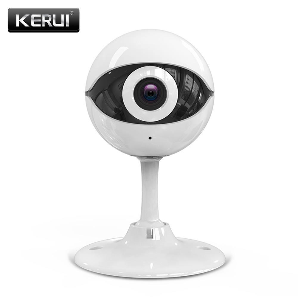 imágenes para N61 KERUI Wireless Home cámaras de Seguridad Ip Inalámbrica Mini Cámara de Vigilancia CCTV Cámara IP Wifi 720 P Visión Nocturna Bebé Monitor