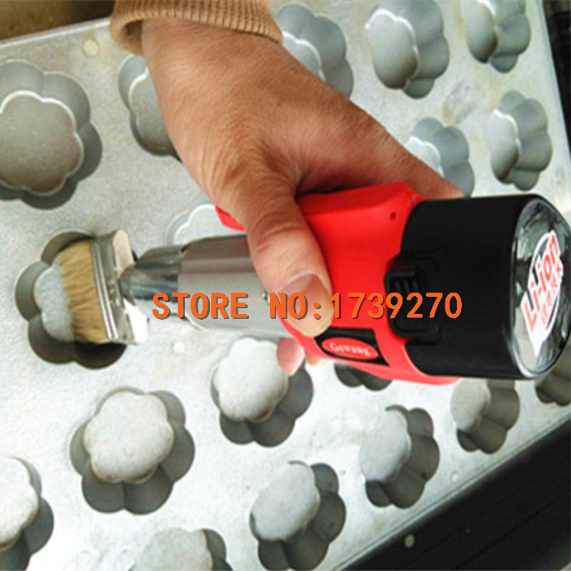 2018 new product cake mold electric oil brush, high tech and fashion electric product shell plastic mold