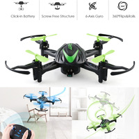 JJRC H48 Mini Drone 2 4GHz RC Quadcopter Drone A Key Rolling Remote Control Charging Mini