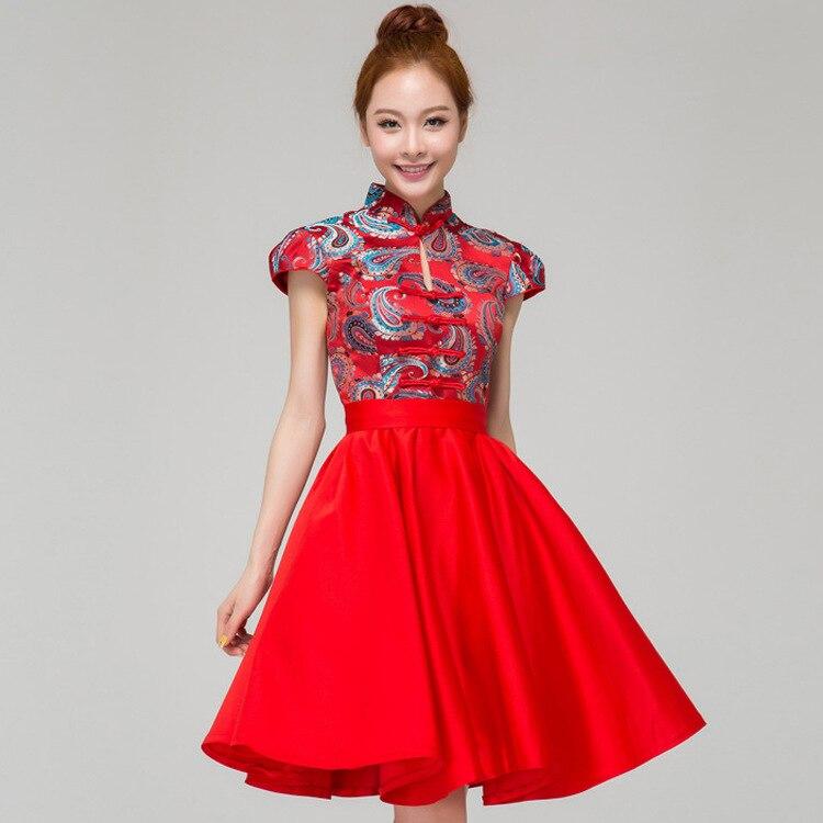2015 moda cheongsam fino do vintage melhorou atacado for Chinese website for wedding dresses