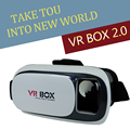 Newly Upgraded VR BOX 2.0 Virtual Reality Immersive Viewing 3D Glasses+Smart Bluetooth Gamepad for 3.5-6.0 inches Smartphone