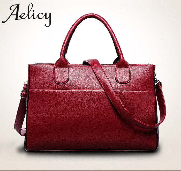 5f4cb8cb253 Aelicy Hign Quality Designer Luxury Women s Genuine Leather Handbag Large Leather  Tote Bag Bolsas Femininas Female Shoulder Bag