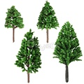 New Stylish 20pcs/Set 68mm Plastic Model Trees For Railroad House Park Street Layout Green landscape Scene Scenery High Quality