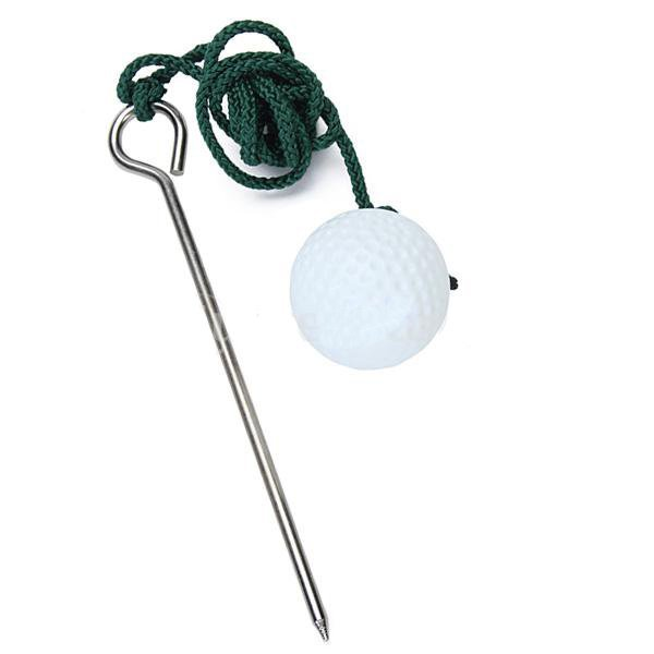 Free Shipping! 1PCS THE ROPE GOLF BALL TRAINING PRACTICE AID IMPROVE SHOTS