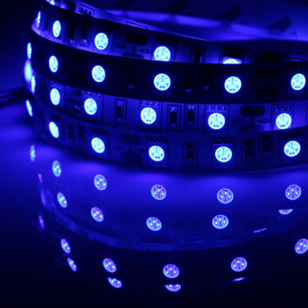 Dc12v Leds Lamp Ribbon 5050 Smd Non Ip65 Waterproof Led Strip Light With Rgb Lifier On Strips Wiring Diagram 12v 1m 2m 3m 5m 60leds M Tape White Warm In From Lights