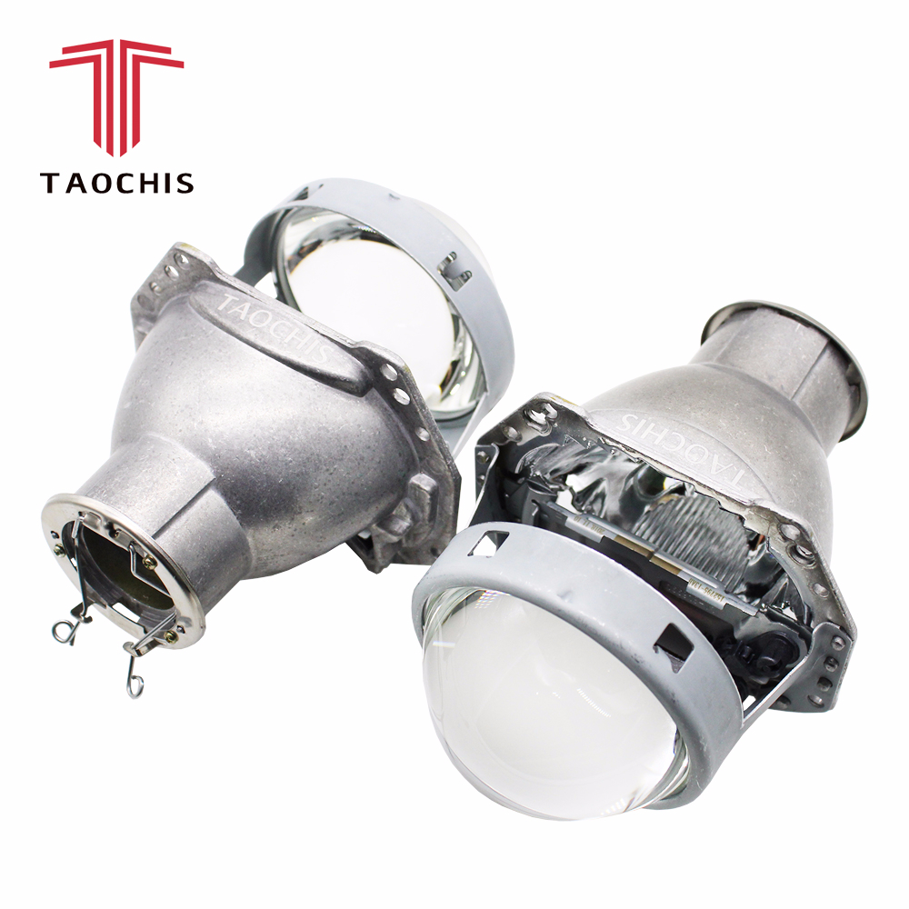 TAOCHIS 3.0 inches Head light retrofit HELLA 3R G5 bi xenon projector lens Using H7 Halogen Projector Xenon LED lampsTAOCHIS 3.0 inches Head light retrofit HELLA 3R G5 bi xenon projector lens Using H7 Halogen Projector Xenon LED lamps
