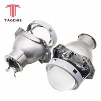 TAOCHIS 3.0 inches Head light retrofit HELLA 3R G5 bi xenon projector lens Using H7 Halogen Projector Xenon LED lamps