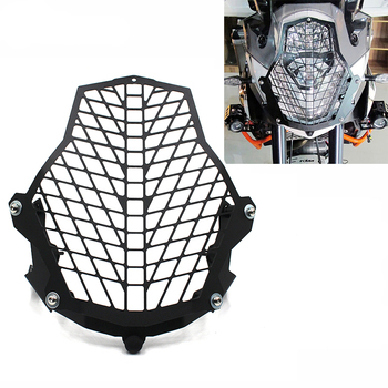 For KTM 1050 1090 1190 Adventure 2015-2018 1290 Super ADV 2015 Motorcycle Headlight Head Lamp Light Grille Guard Cover Protector