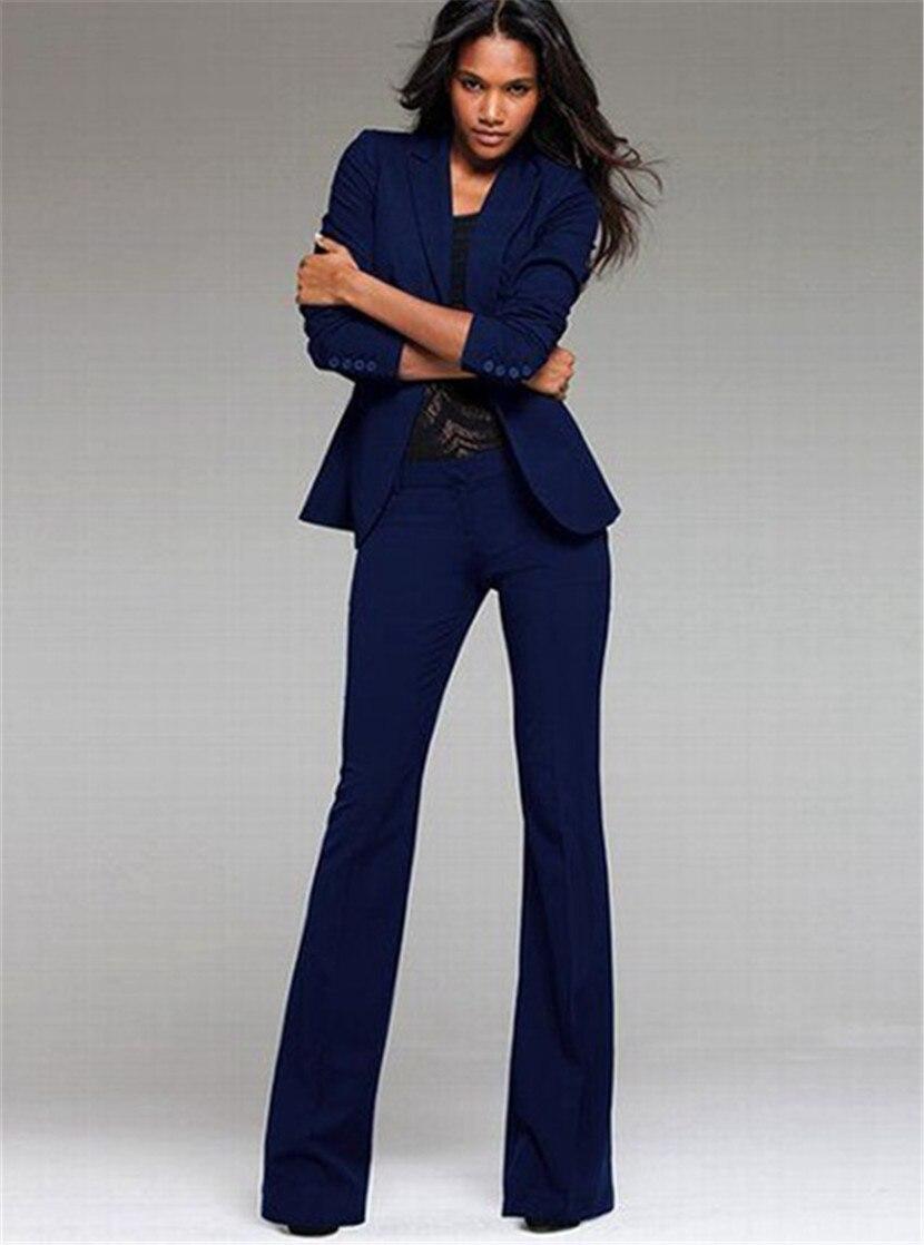 2 Stück Set Frauen Anzug Formale Büro Damen Uniform Design Stil Hose Anzug Frauen Arbeit Tragen Jacke Mit Hose Direktverkaufspreis