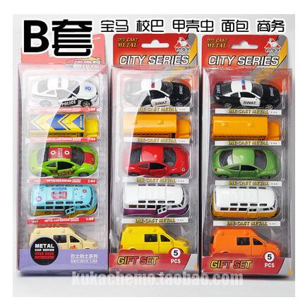 Alloy WARRIOR 1 :64 toy car model metal brinquedos pull back barrowload world cars 5PCS/set combination kids toy gift