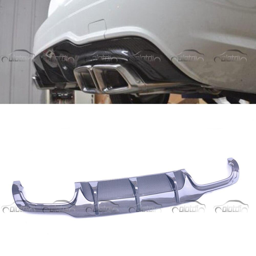 Séparateur de lèvre de diffuseur de pare-chocs arrière de Style Original pour Mercedes Benz W204 C63 AMG 2012-2014