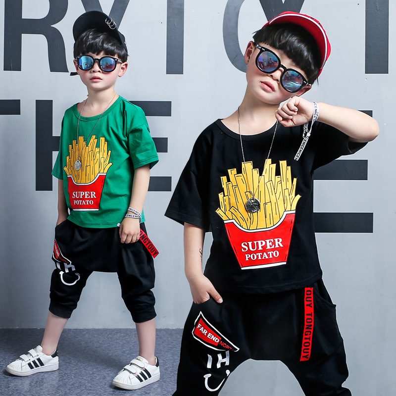 Kids Clothing Toddler Boys Summer Children Baby Boys Cartoon Clothes Sets Kid Toddler Boys Clothing Set Summer Baby Suit Shorts summer baby boys clothing set cotton animal print t shirt striped shorts sports suit children girls cartoon clothes kids outfit