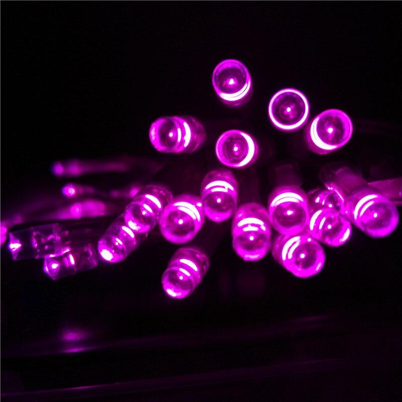 2 M LED Cadenas de Luz con Pilas para la noche colorida Boda de La Navidad Del P