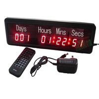 big sport day,hours,minutes and seconds led countdown digit clock(HIT9 1R)