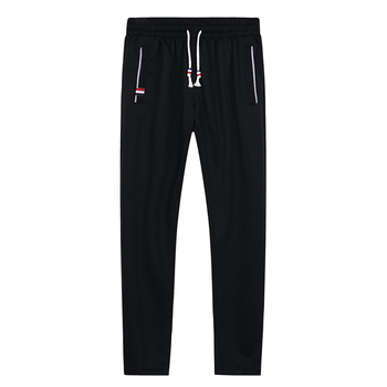 Men Joggers Hip Hop Pencil Feet Pants Elastic Waist Men Skinnly Pencil Pants Men Slim Fit Mens Casual Pants Straight Trousers 6