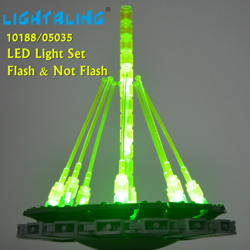 Lightaling LED Set For For Death Star Building War Building Block Bricks Toys Light Compatible With Lego 10188/10143/75159 lego 10188 звезда смерти
