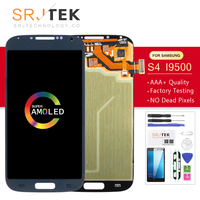 AMOLED/IPS For Samsung Galaxy S4 I9500 LCD Display Touch Digitizer Sensor Glass Assembly No Frame For Galaxy S4 i9505 Display