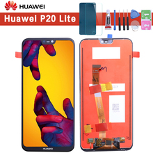 5 84 #8243 Original LCD For HUAWEI P20 Lite Display Touch Screen with Frame for HUAWEI P20 Lite LCD ane-lx3 Huawei Nova 3e Display cheap Capacitive Screen for Huawei P20 Lite Nove 3E 3 2280*1080