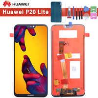 "5.84"" Original LCD For HUAWEI P20 Lite Display Touch Screen with Frame for HUAWEI P20 Lite LCD ane-lx3 Huawei Nova 3e Display"