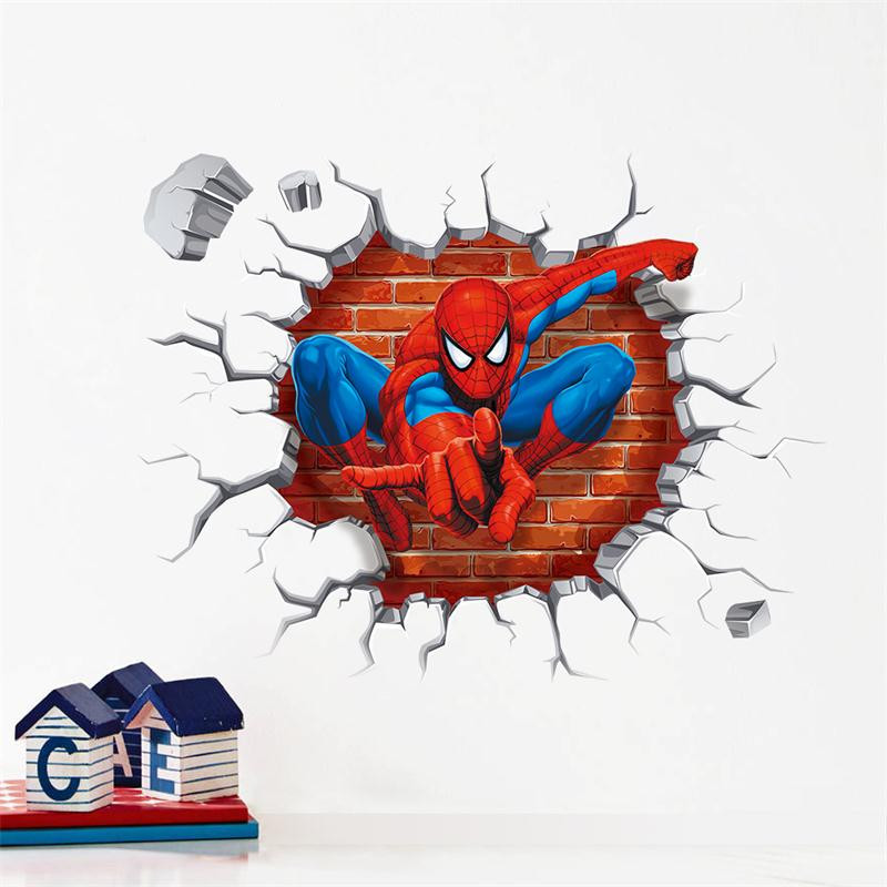 Spiderman Wall Decal For Kids