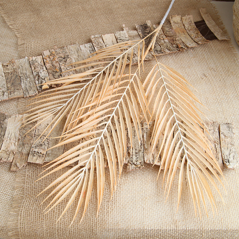70cm Palm Leaf Coconut Leaf Artificial Plants Fake Flower Wedding Party Christmas Home Decoration DIY