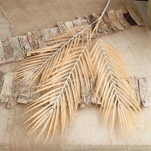 Image 2 - 70cm Palm leaf coconut leaf Artificial plants fake flower wedding party Christmas home decoration DIY