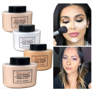 Face Foundation Powder Professional Makeup Setting Loose Translucent Matte Banana Finishing Oil-control Smooth Mineral Palette(China)