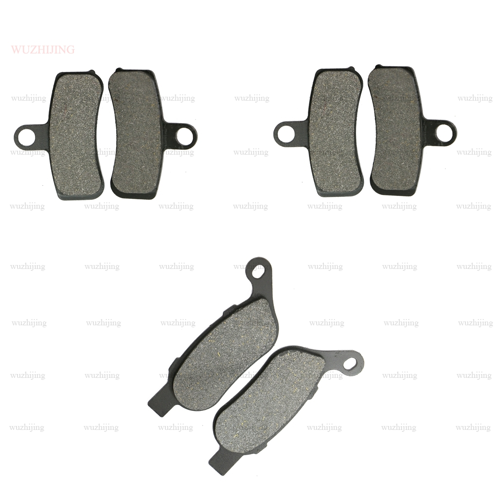 Brake Pads Set fit FXDF Dyna Fat Bob 1584 (08-12) 1690 (13-17) FXDLS 1800 Low Rider S (16-17)