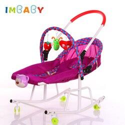 IMBABY Baby Wiege Baby Schaukel Stuhl Für Kinder Mit Musik Player Baby Schaukel Stuhl Kind Schaukel Stubenwagen Baby Schaukel Stuhl